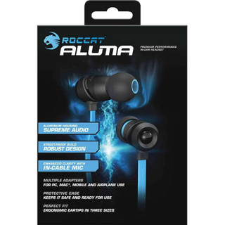 Aluma In-Ear Headphones - Black