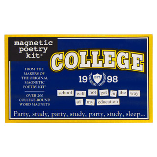 Magnetic Poetry Kit - College