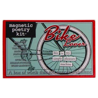 Magnetic Poetry Kit - Bike Lovers