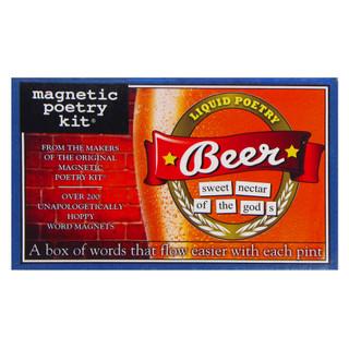 Magnetic Poetry Kit - Beer