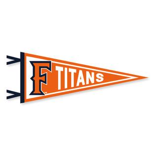"""'F' Titans Pennant - 12.5"""" x 30"""""""