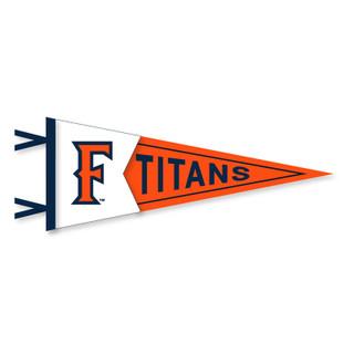 """Titans 'F' Pennant - 7.5"""" x 18"""""""