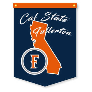 "Cal State Fullerton State Banner - 17.5"" x 23.5"""