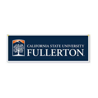 "CSUF Emblem Banner - 11.75"" x 35.5"""