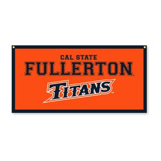 "Cal State Fullerton Titans Banner - 18"" x 35"""