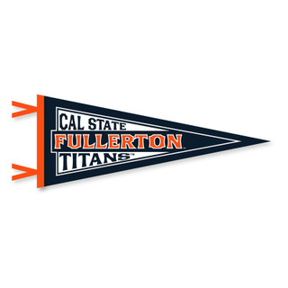 "Cal State Fullerton Titans Pennant - 12.5"" x 30"""