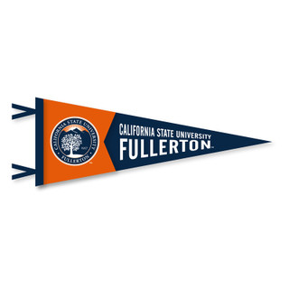 "Seal CSUF Pennant 12"" x 30"""