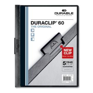 Duraclip Report Cover - Black 60 Sh