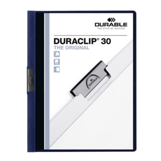 Duraclip Report Cover - Navy 30 She