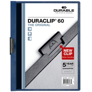 Duraclip Report Cover - Navy 60 She