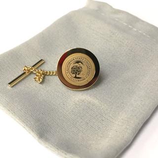 University Seal Tie Tack - Gold