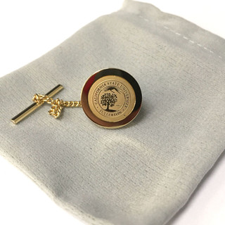 University Seal Tie Tack - Gold