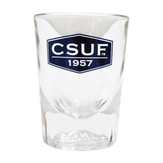 CSUF '57 Heavy Bottom Shot Glass