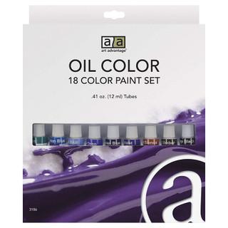 Art Advantage 18 Color Oil Set