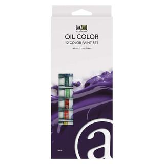Art Advantage 12 Color Oil Set