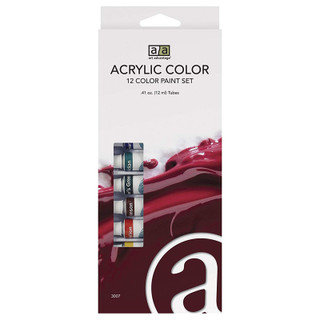 Art Advantage 12 Color Acrylic Set