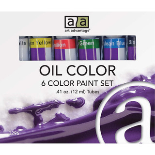 Art Advantage Oil Paint Set - 6 Pack