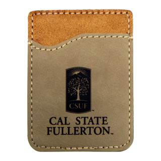 CSUF Cellphone ID Case - Taupe