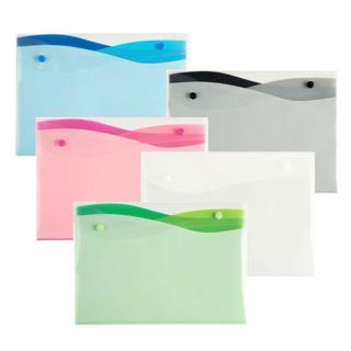 Wave 4-Pocket Poly Envelope