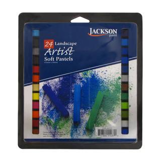 24 Landscape Artist Soft Pastels