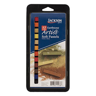 12 Earthtone Artist Soft Pastel