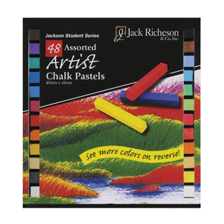 48 Assorted Artist Chalk Pastels