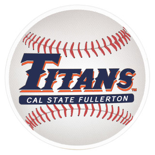 Titans Baseball Decal