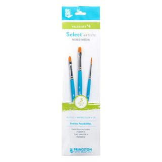 Select Artiste Mixed Media Paint Brush - Value Set #4