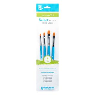 Select Artiste Mixed Media Paint Brush - Value Set #11