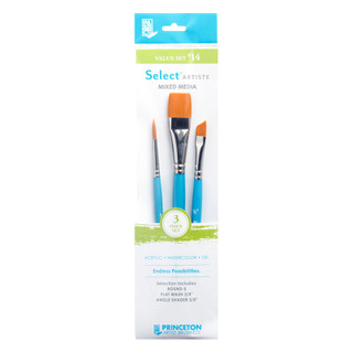 Select Artiste Mixed Media Paint Brush - Value Set #14