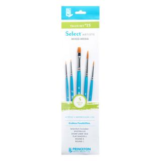 Select Artiste Mixed Media Paint Brush - Value Set #15