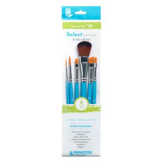 Select Artiste Mixed Media Paint Brush - Value Set #20