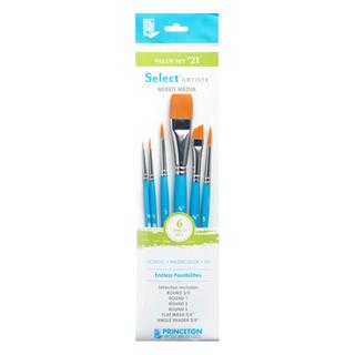 Select Artiste Mixed Media Paint Brush - Value Set #21