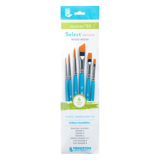 Select Artiste Mixed Media Paint Brush - Value Set #22