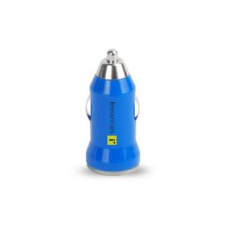 iessentials USB Car Charger - Blue