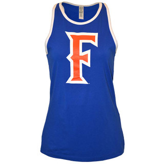 Ladies' Fitted 'F' Tank - Blue - M