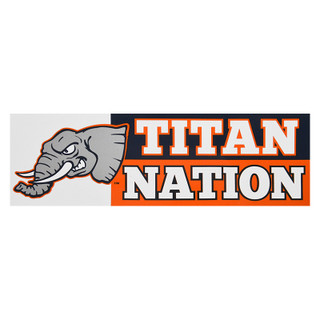 Titan Nation Decal