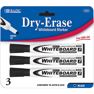 Dry-Erase Markers 3 Ct