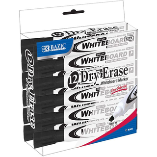 12 Dry Erase Whiteboard Markers