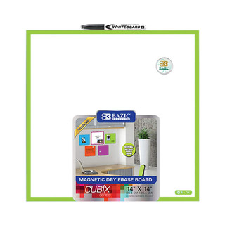 "Magnetic Dry Erase Board 14"" x 14"""