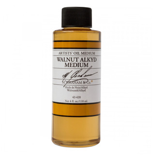 Artist's Oil Walnut Alkyd Medium