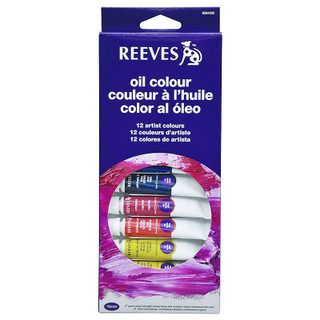 Reeves 12 Artist Colors Oil Set