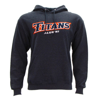 Titans Alumni Hoodie - Granite