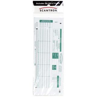 882-E Scantron 6-Pack