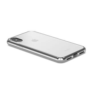 Moshi Vitros Phone Case iPhone X Silver - Angle