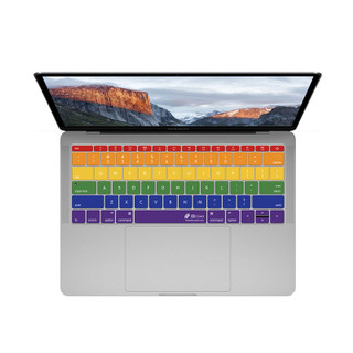 KB Cover rainbow - MacBook Pro no Touch Bar