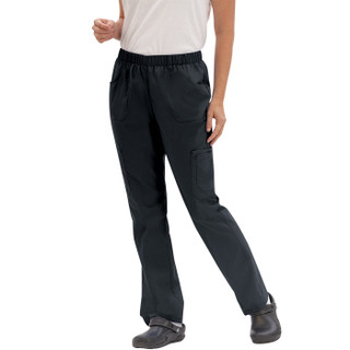 Female Nursing Cargo Pant - Black