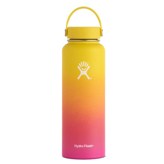 40 oz Ombre Wide Mouth Hydro Flask - Sunset