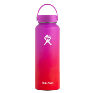 40 oz Ombre Wide Mouth Hydro Flask - Wildflower