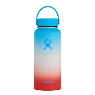 32 oz Wide Mouth Hydro Flask - Blue Hawaii